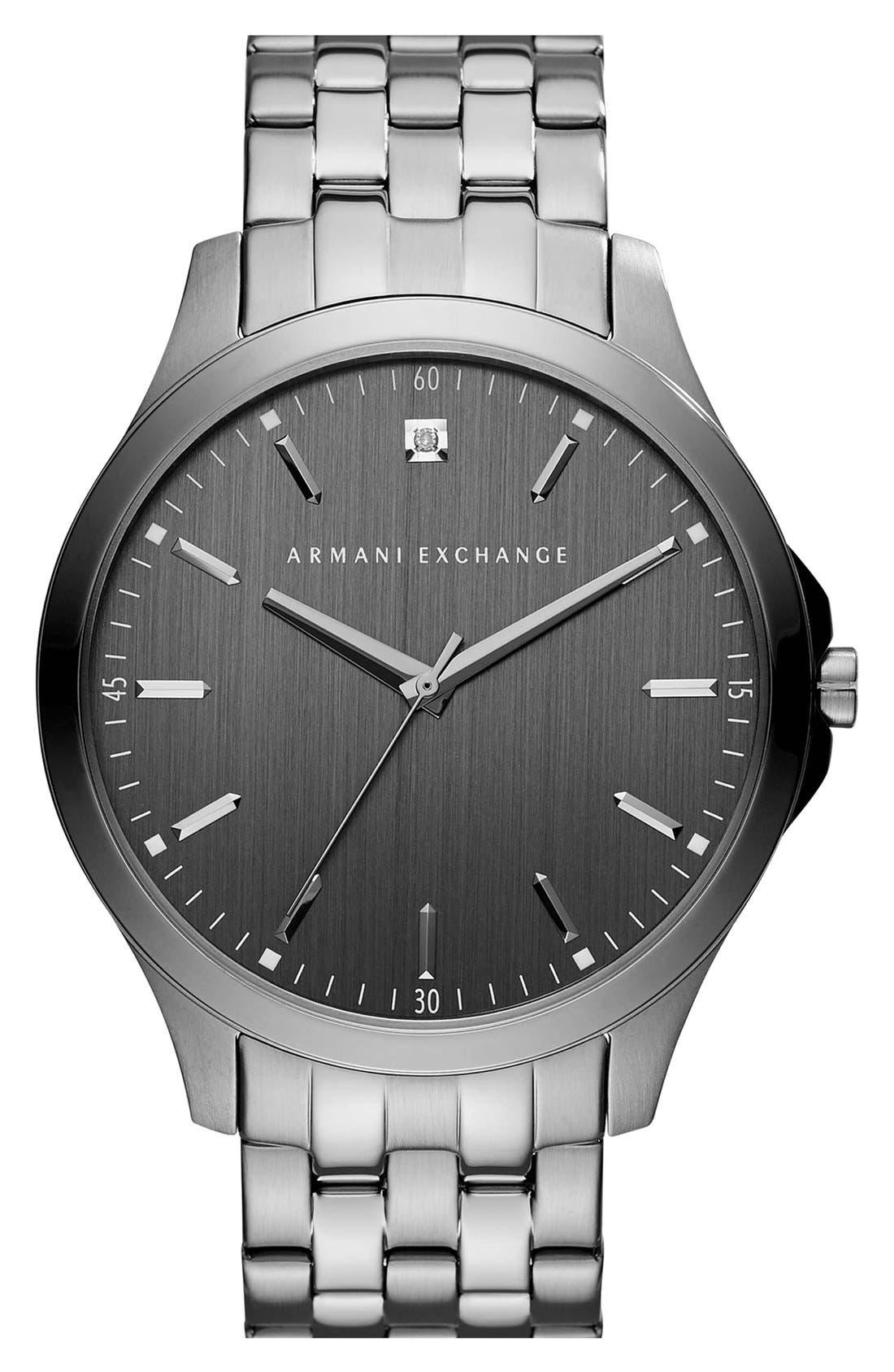 Bracelet Watch, 46mm,                         Main,                         color, Grey/ Grey
