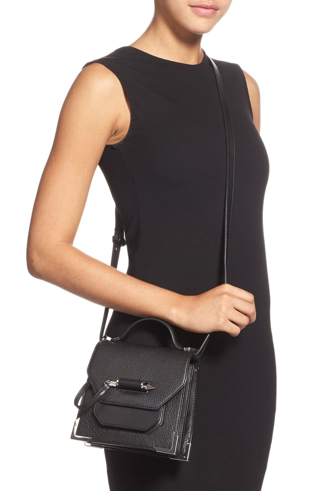 Alternate Image 2  - Mackage 'Mini Rubie' Crossbody Satchel