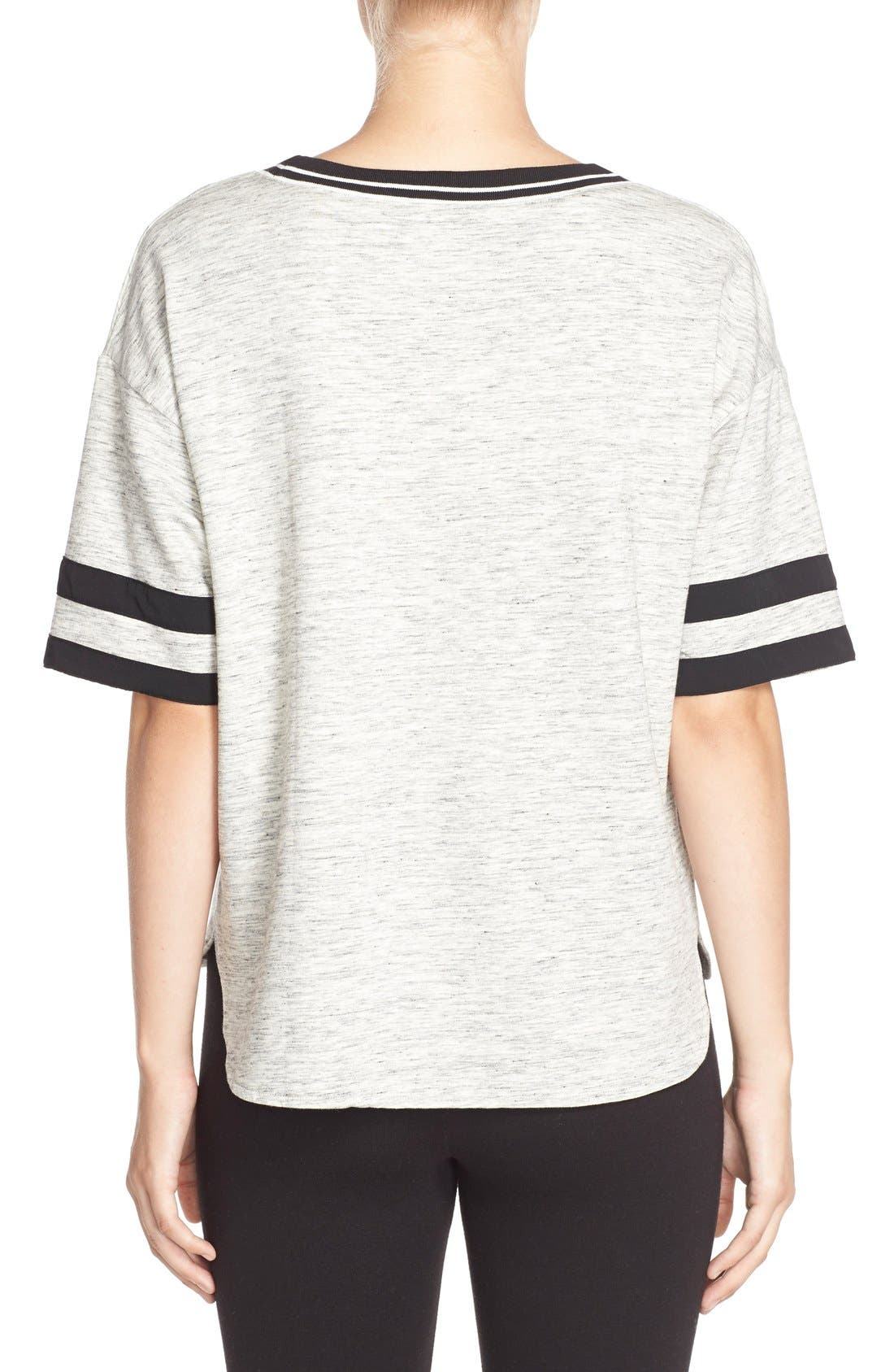 Alternate Image 2  - DKNYShort Sleeve Top