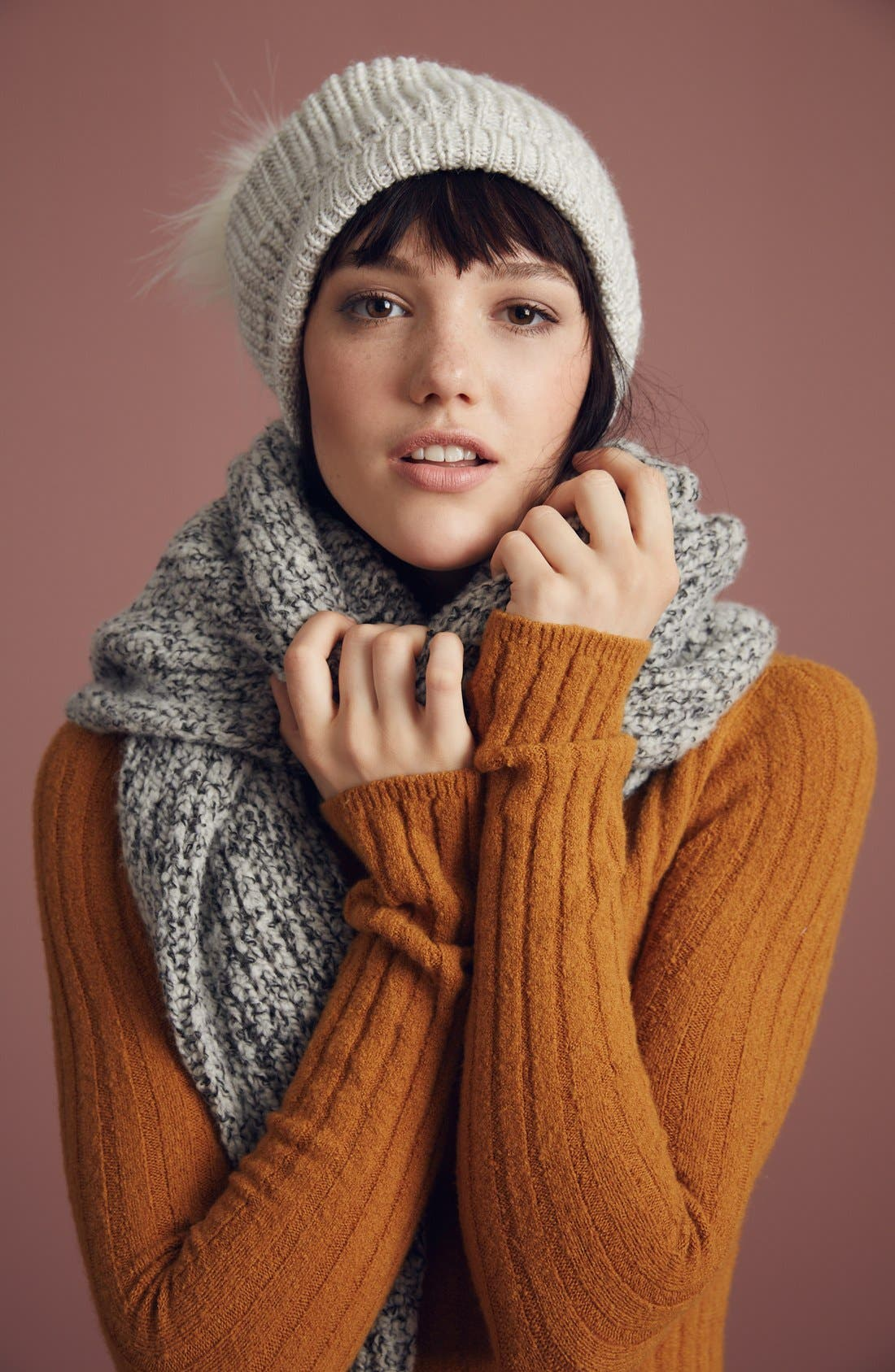 Alternate Image 4  - Free People Pompom Beanie
