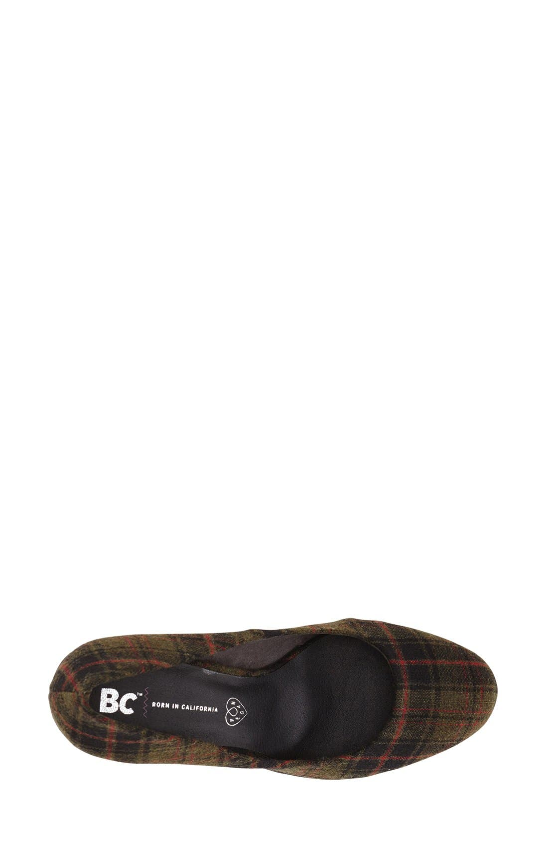 Alternate Image 3  - BC Footwear 'Turf' Pump (Women)