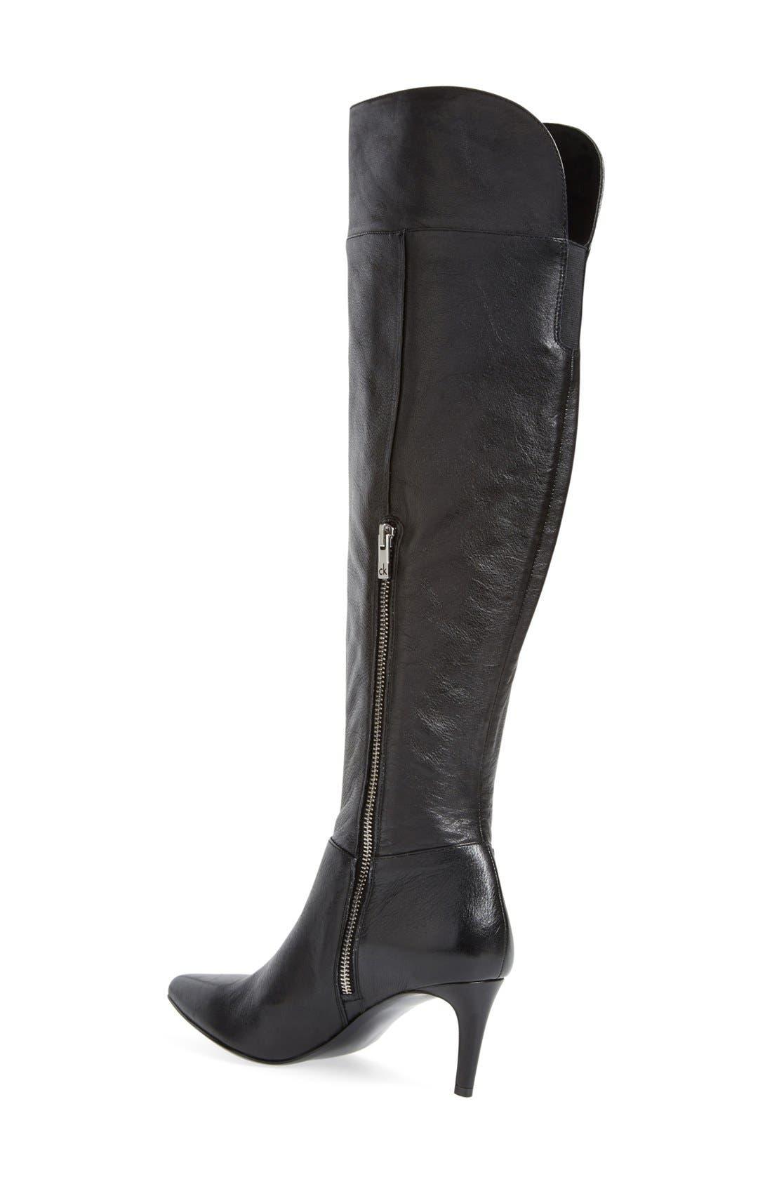 Alternate Image 2  - Calvin Klein 'Clancey' Over the Knee Boot (Women)