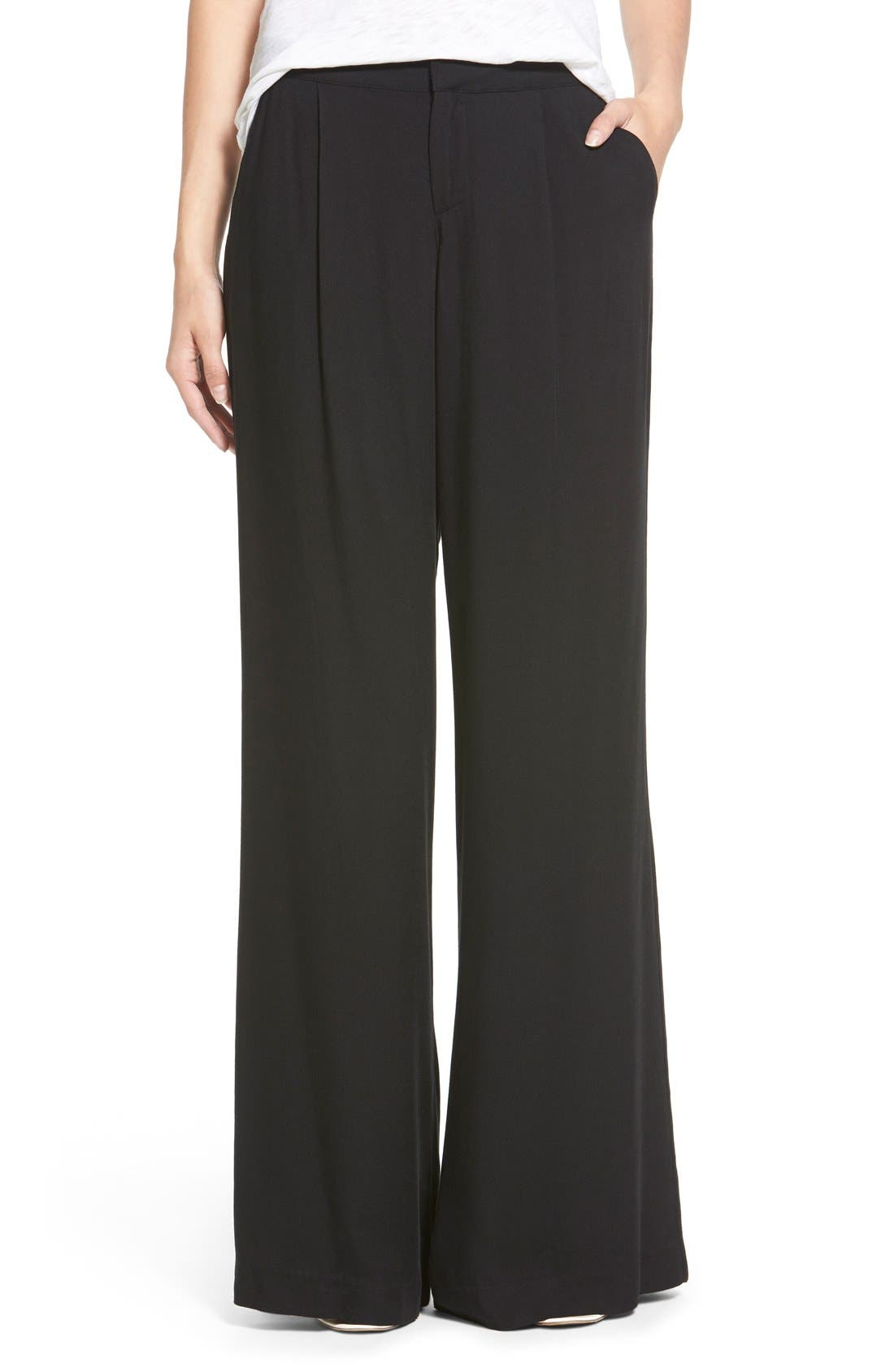 Alternate Image 1 Selected - Socialite Wide Leg Trousers