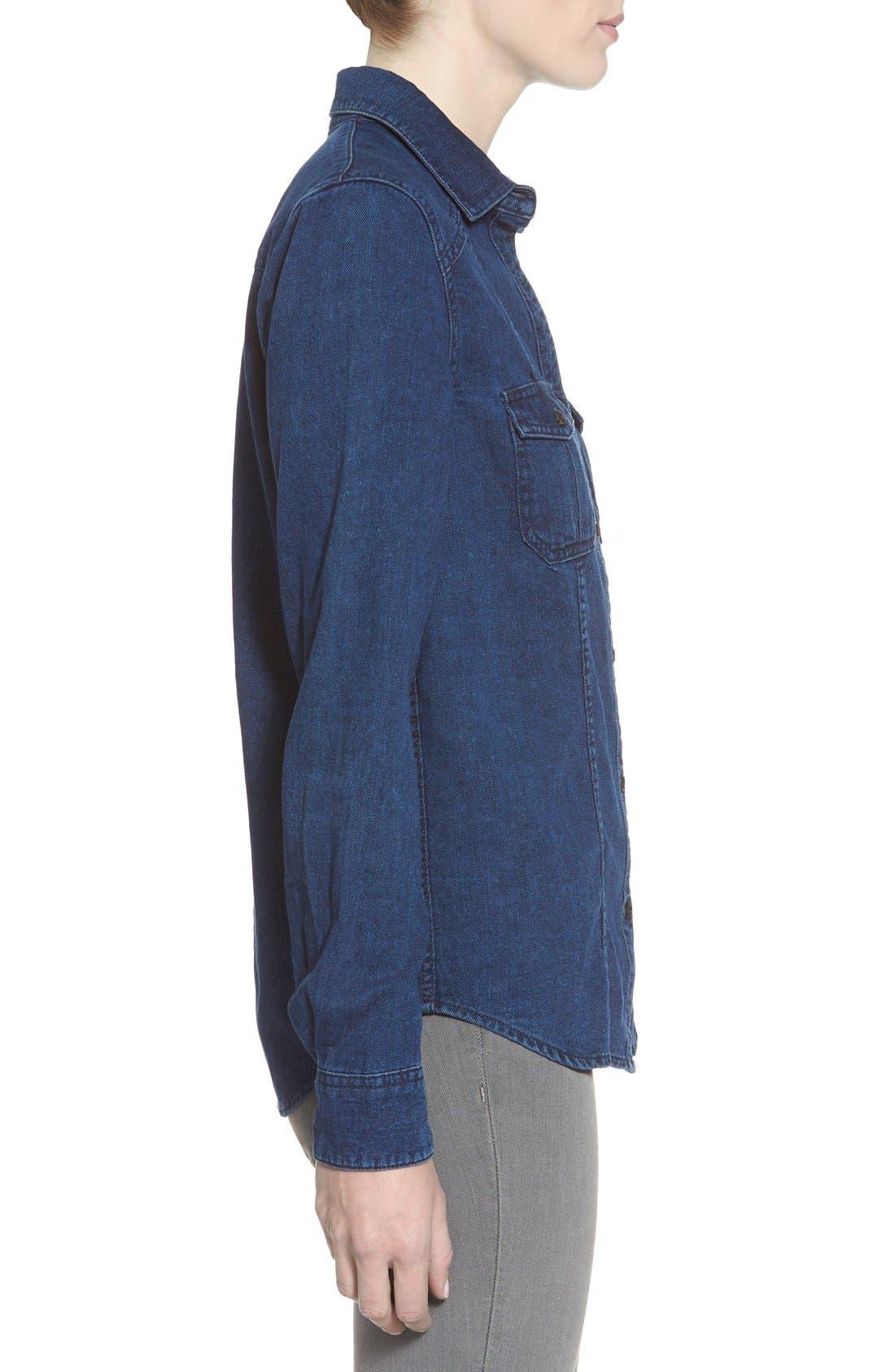 Alternate Image 3  - Joe's 'Collector's - Leigh' Denim Shirt