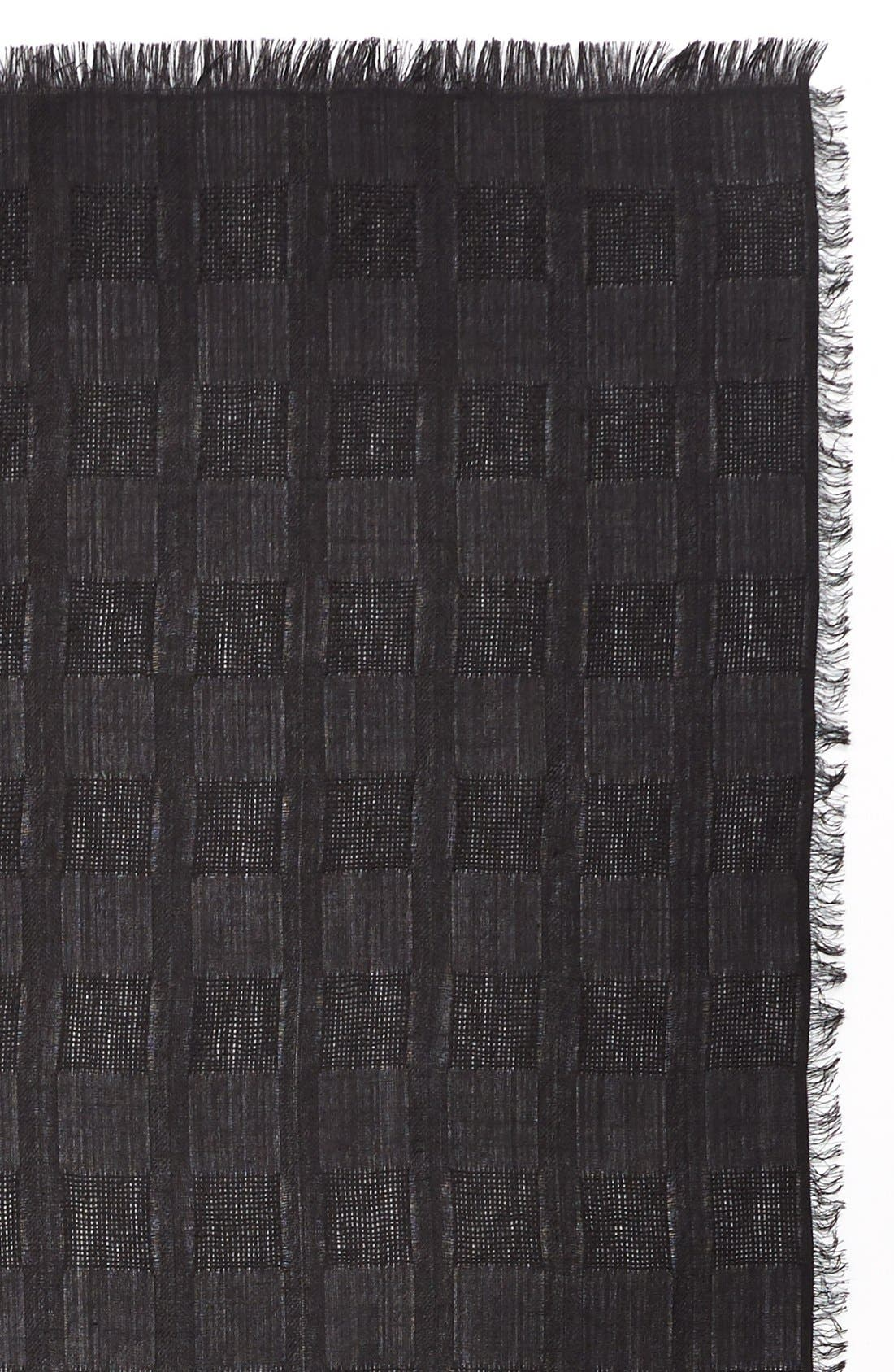 Alternate Image 3  - Nordstrom Texture Woven Scarf
