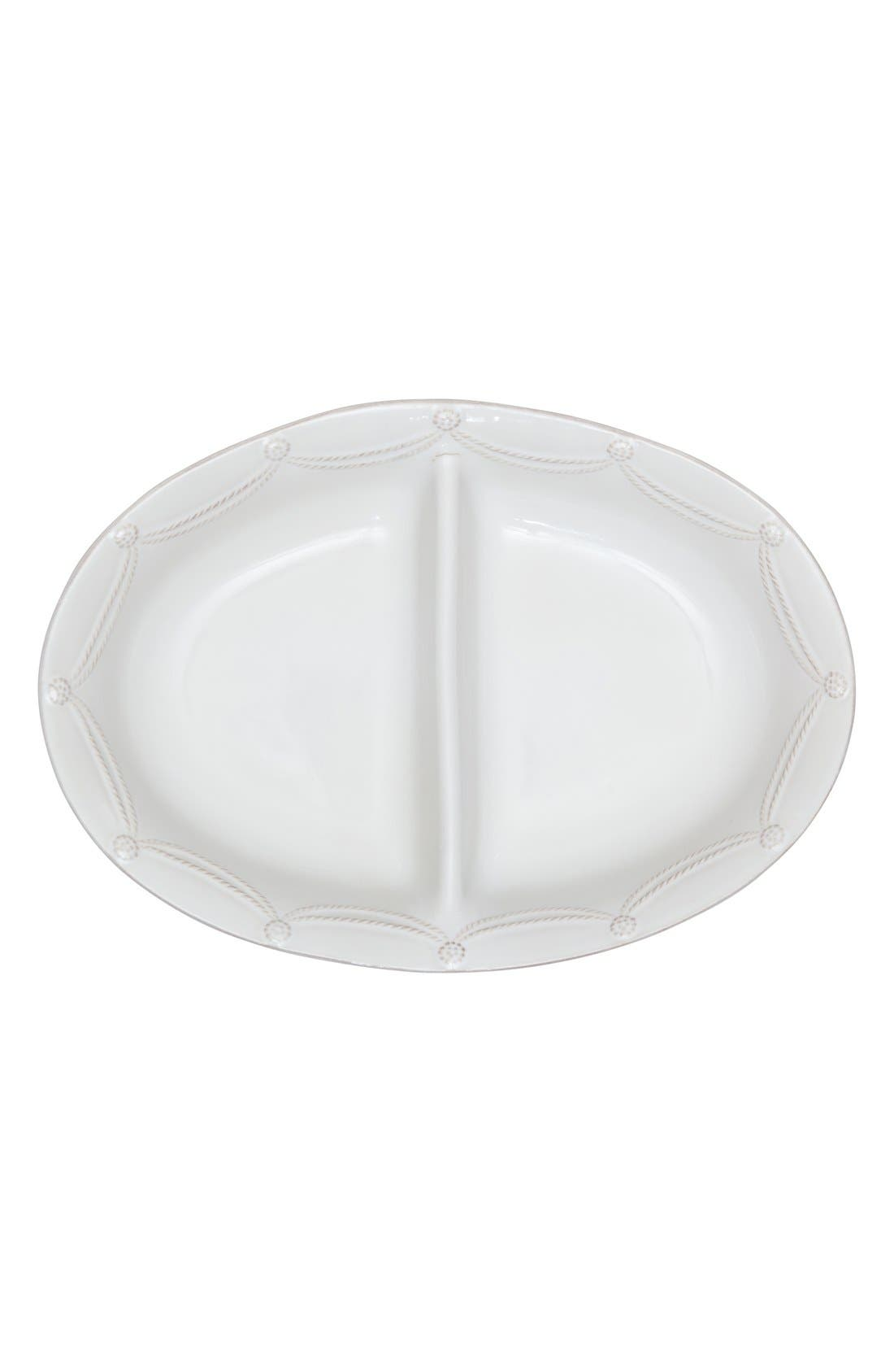 Alternate Image 2  - Juliska'Berry and Thread' Ceramic Divided Bowl