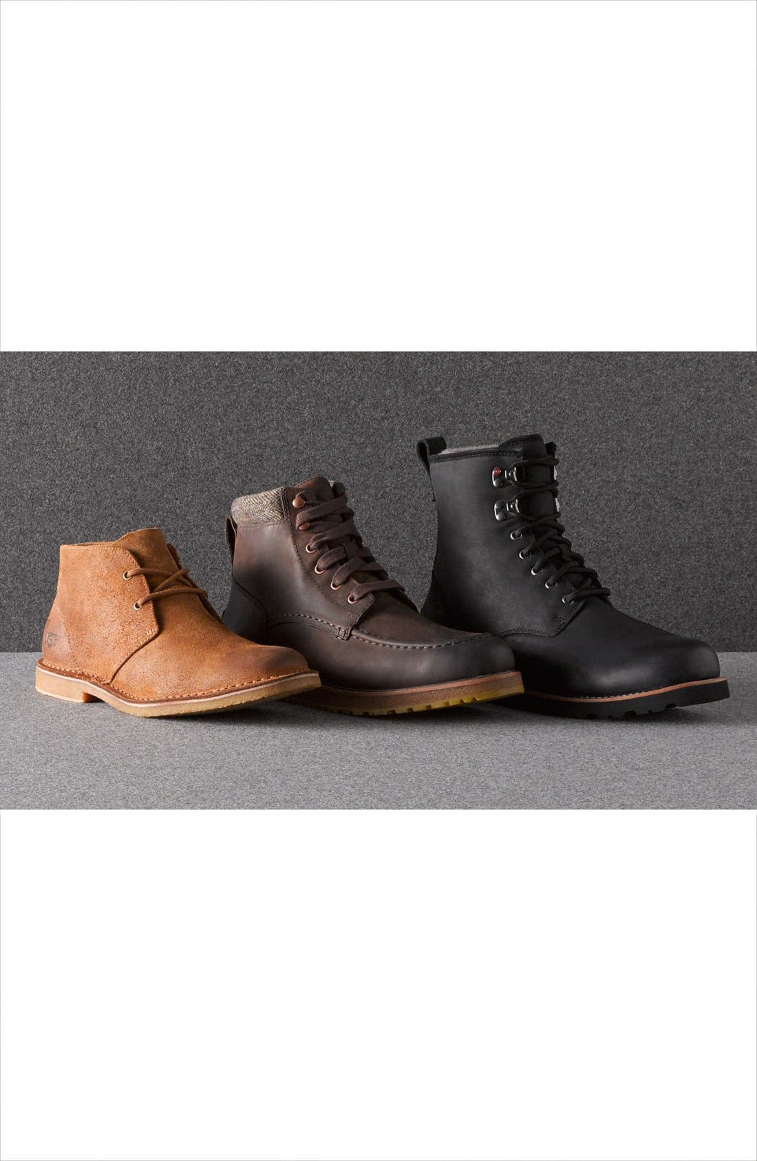 Alternate Image 6  - UGG® Australia 'Hannen' Plain Toe Boot (Men)