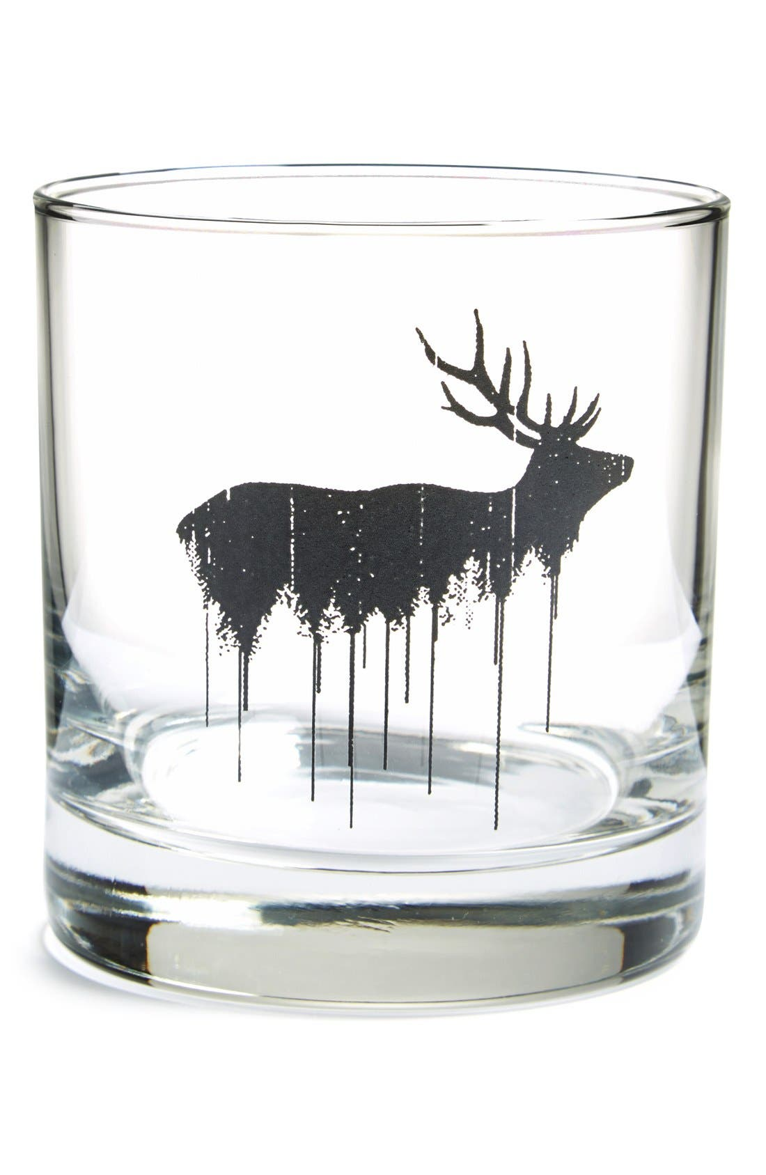 Main Image - Crawlspace Studios 'Elk' Double Old Fashioned Glass