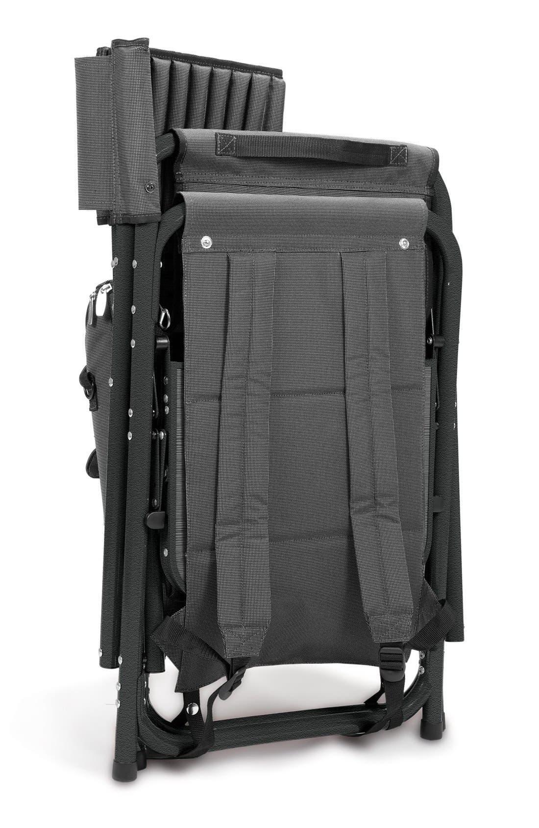 'Fusion' Lawn Chair,                             Alternate thumbnail 5, color,                             Black