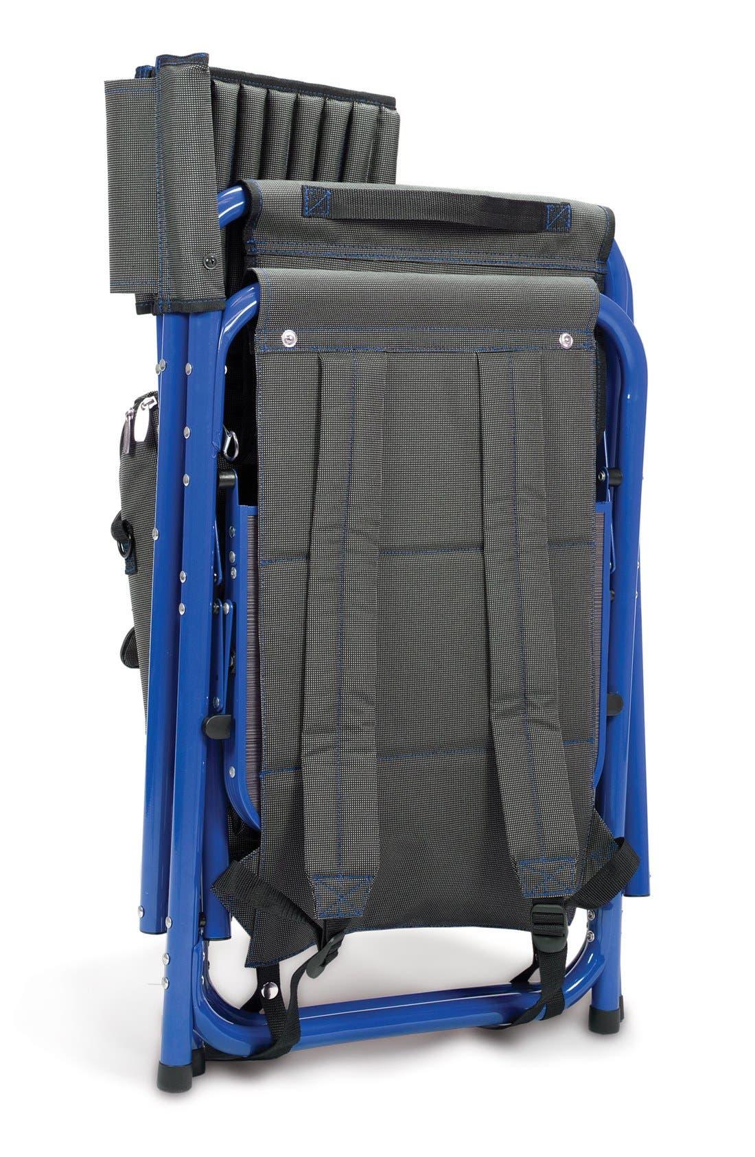 'Fusion' Lawn Chair,                             Alternate thumbnail 6, color,                             Blue