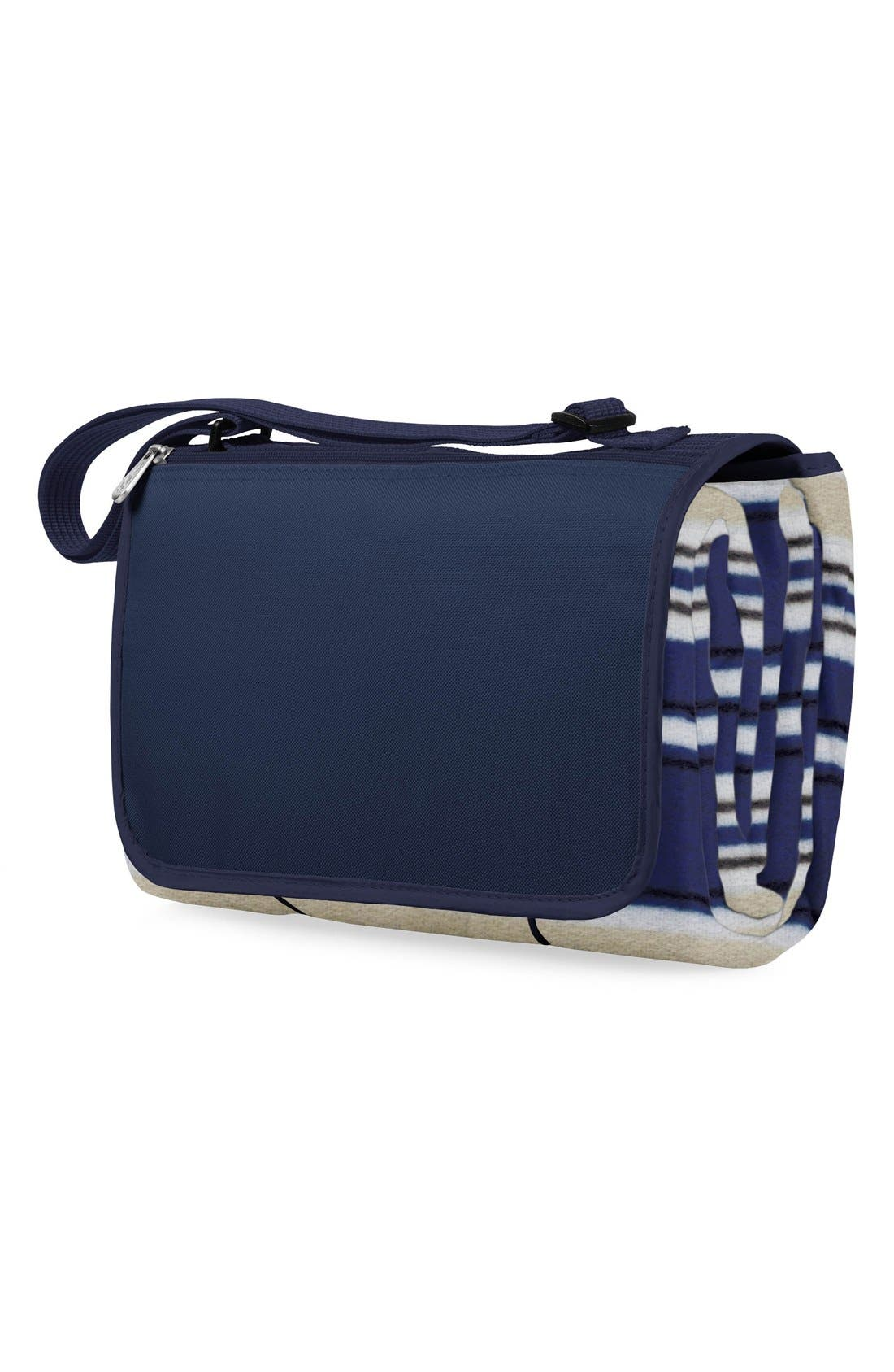 Blanket Tote,                         Main,                         color, Blue