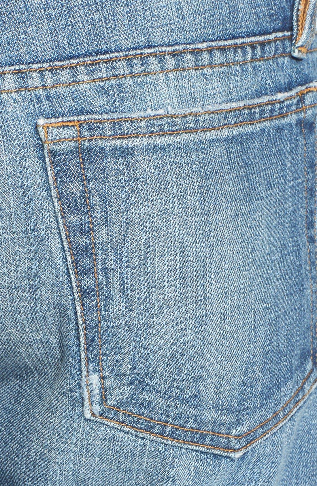 Alternate Image 3  - Frame Denim 'Le Grand Garcon' Destroyed BoyfriendJeans (Wagner)