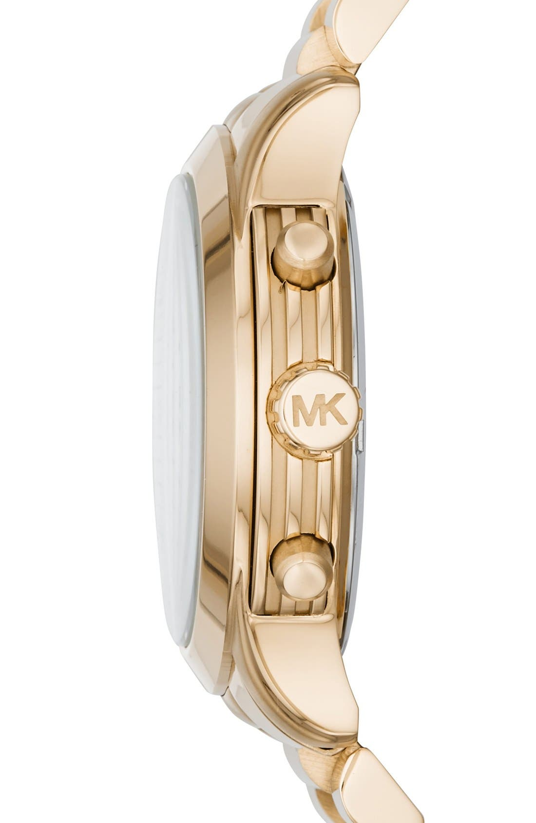 'Cooper' Chronograph Bracelet Watch,39mm,                             Alternate thumbnail 2, color,                             Gold