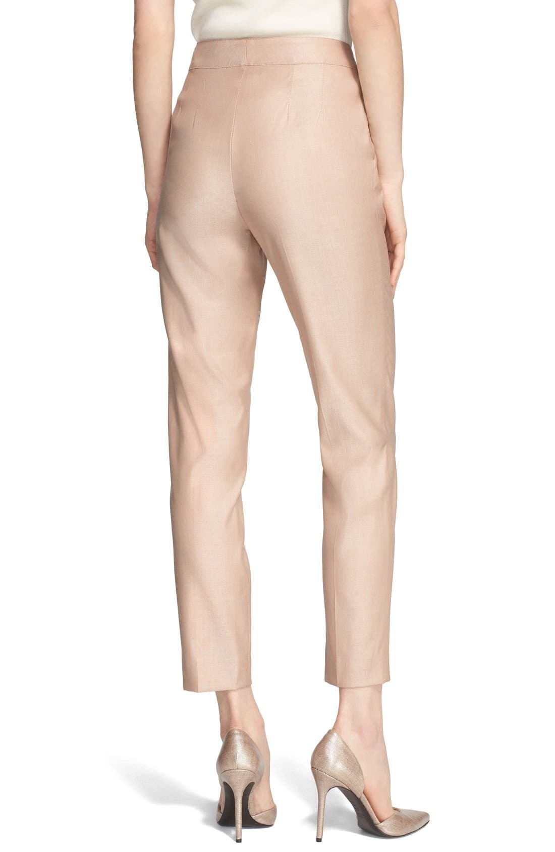 Alternate Image 2  - St. John Collection 'Emma' Straight Leg Suiting Pants