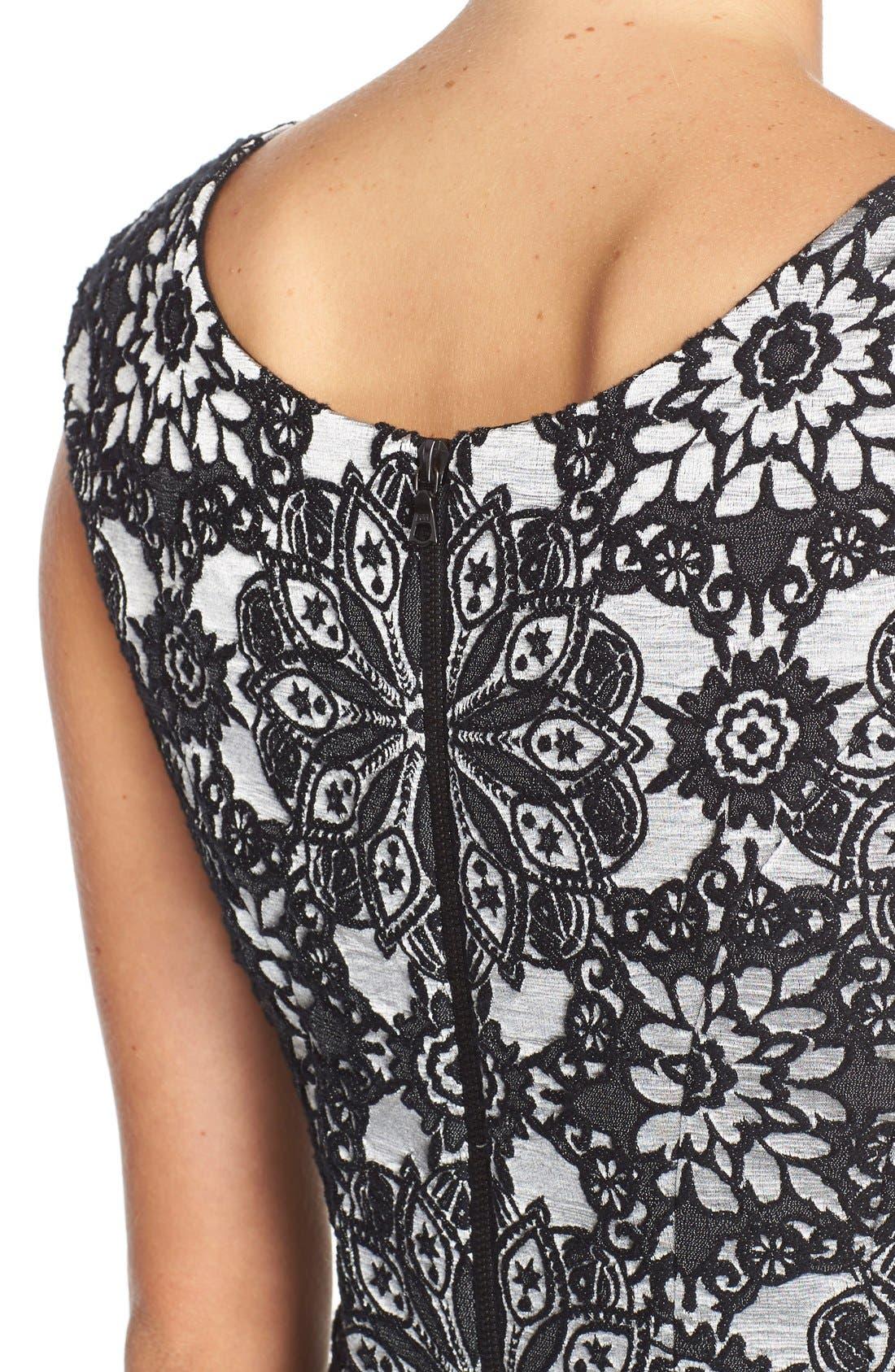 Alternate Image 5  - Betsey Johnson Floral Fit & Flare Dress