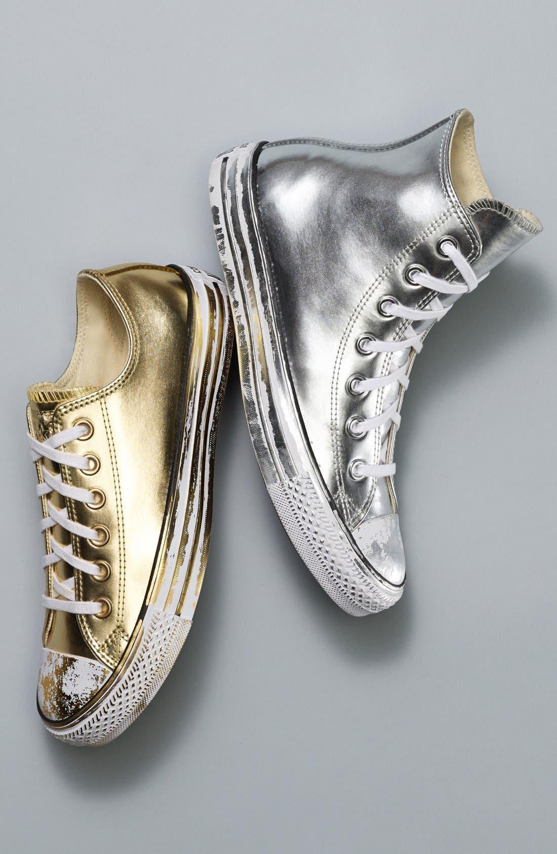 Alternate Image 10  - Converse Chuck Taylor® All Star® 'Metallic' High Top Sneaker (Women)