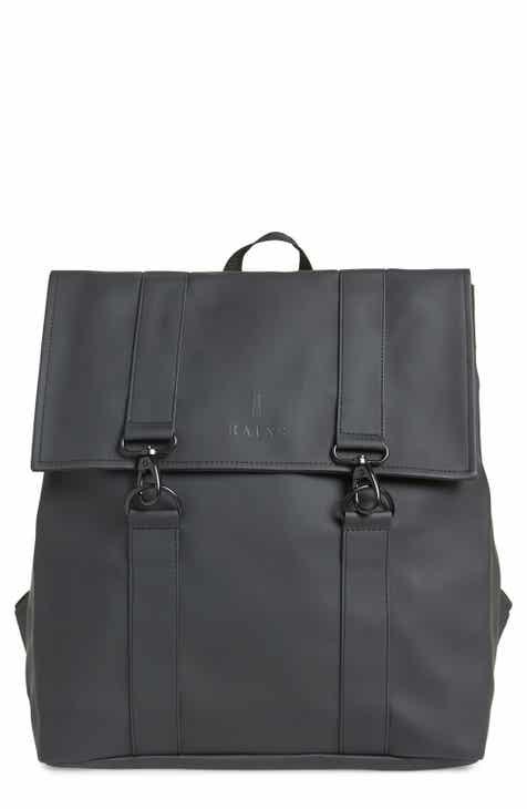 Men s RAINS Backpacks  Canvas   Leather  8d7c275da9e35