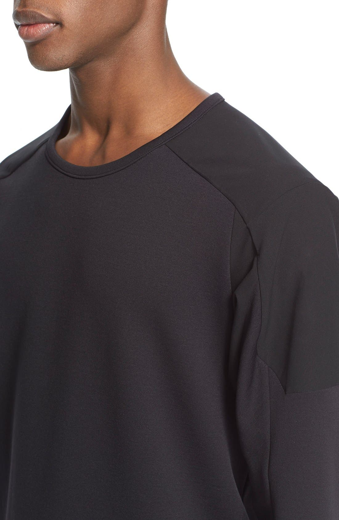 Arc'teryxVeilance'Graph' Sweater,                             Alternate thumbnail 4, color,                             Black