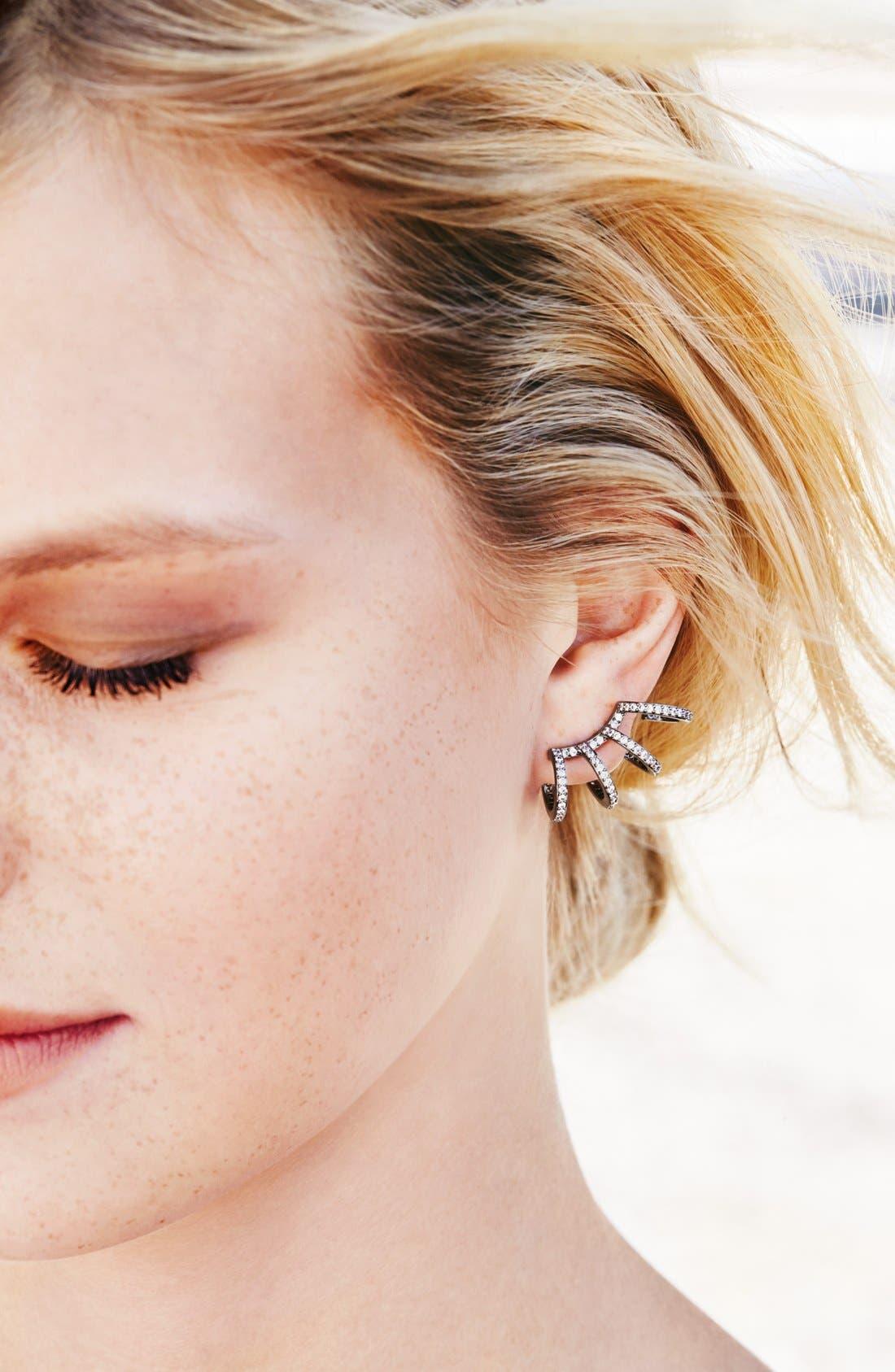 Alternate Image 3  - Nadri 'Starry Night' Crystal Ear Crawlers