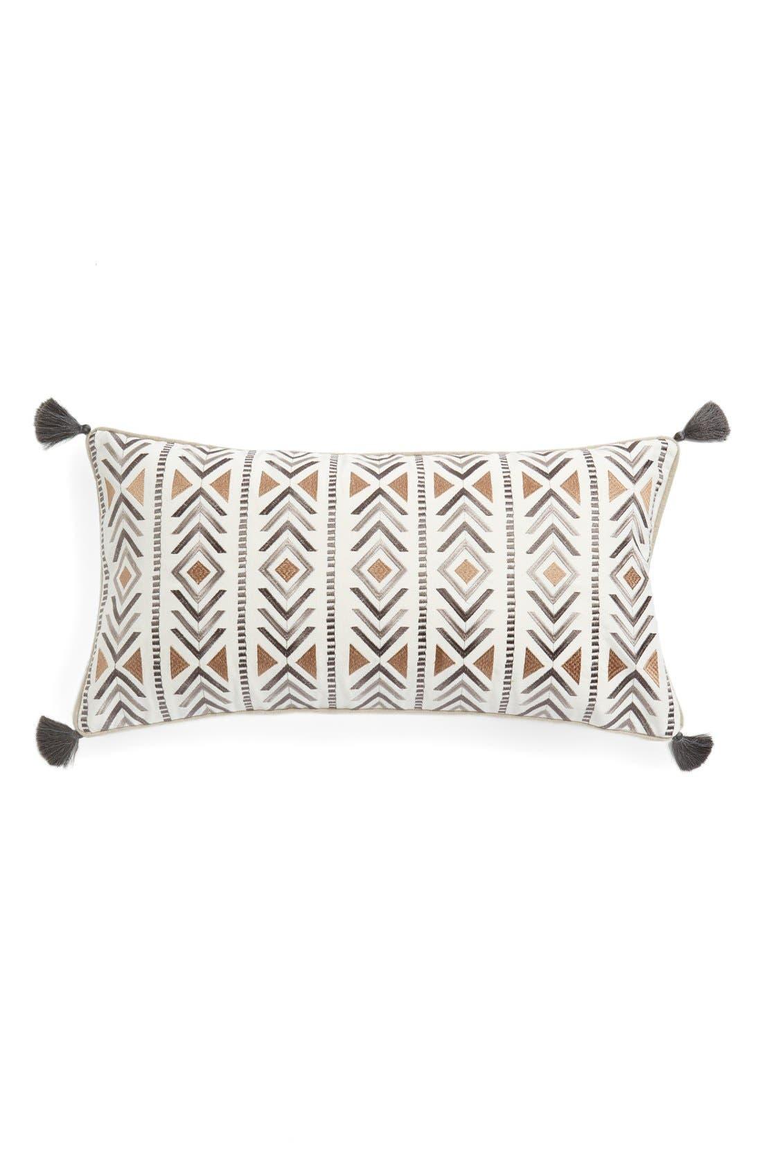 Alternate Image 1 Selected - Levtex'Santa Fe' Tassel Pillow