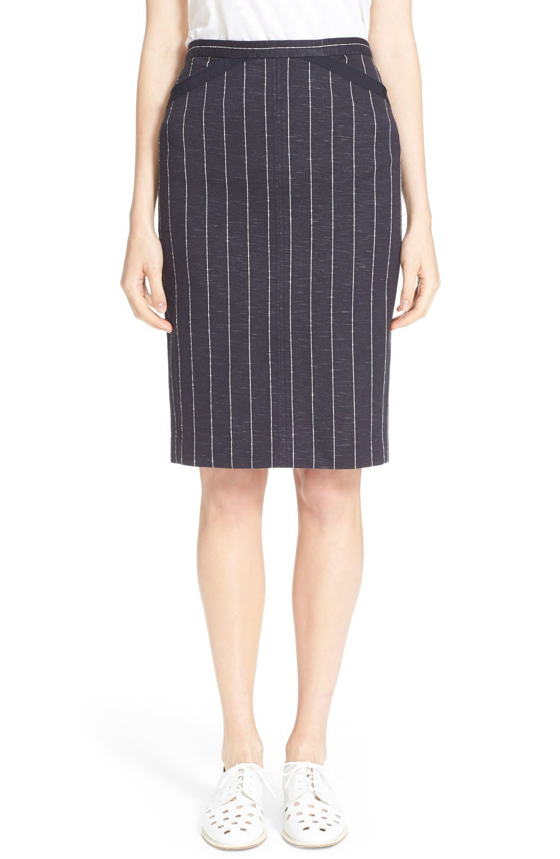 Main Image - ATM Anthony Thomas Melillo Stripe Pencil Skirt