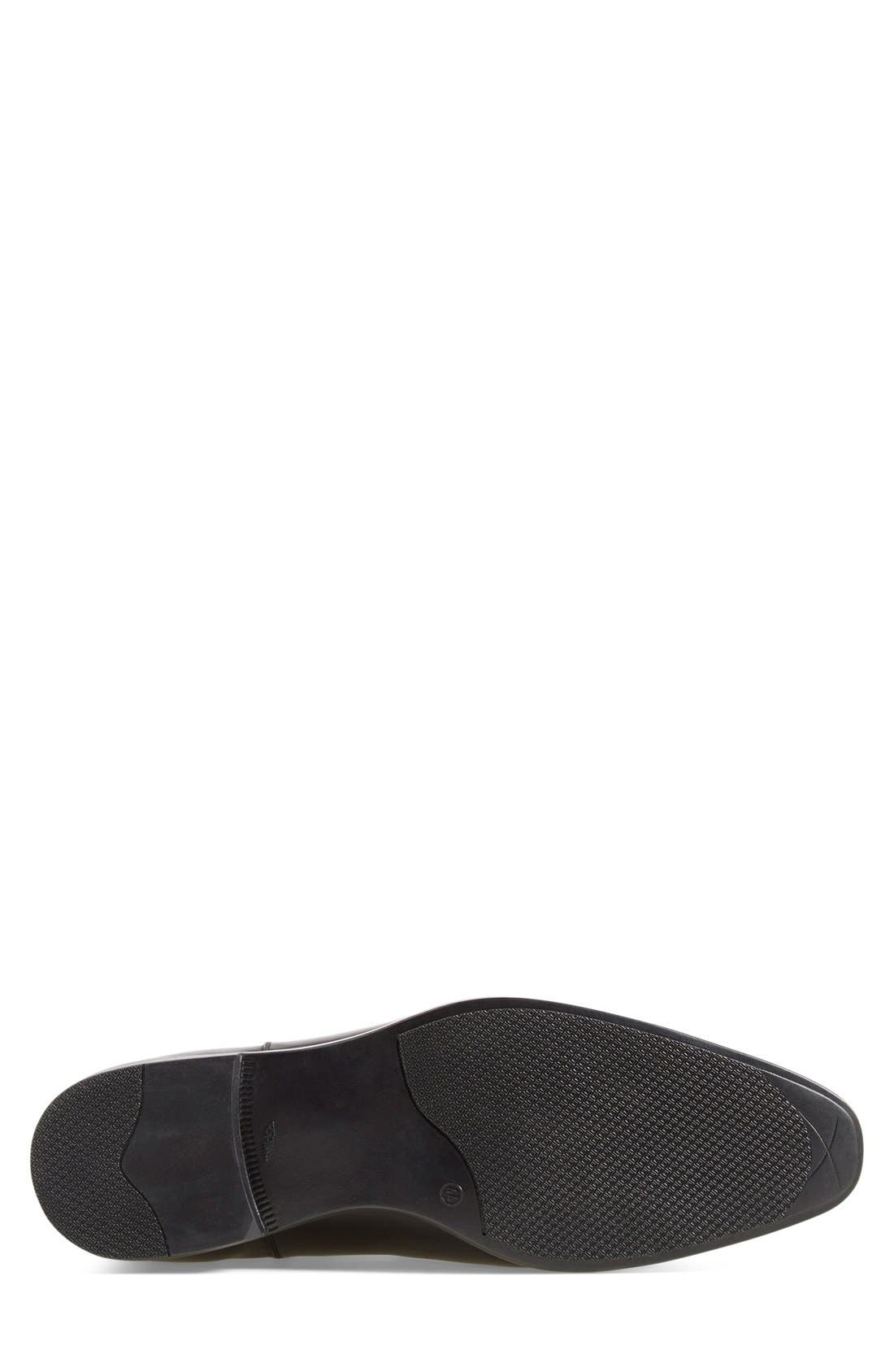 'Canton' Chelsea Boot,                             Alternate thumbnail 4, color,                             Black