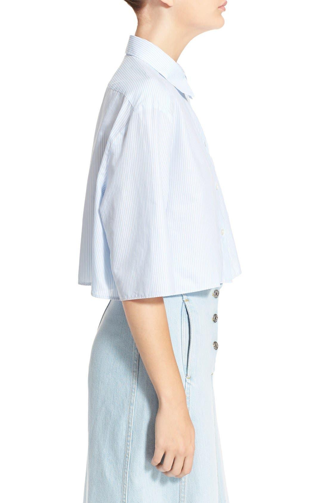 Alternate Image 5  - ACNE Studios 'Genera' Stripe Shirt