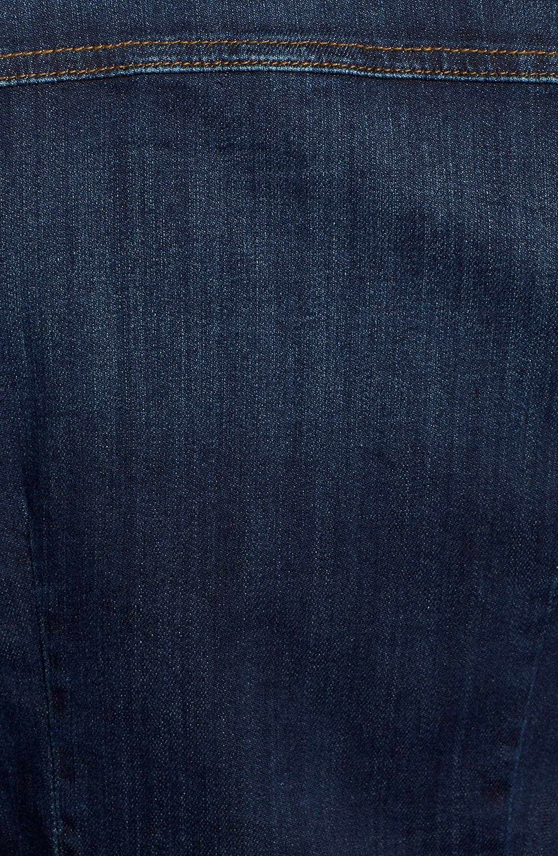 Alternate Image 5  - KUT from the Kloth 'Blake' Denim Shirt Dress