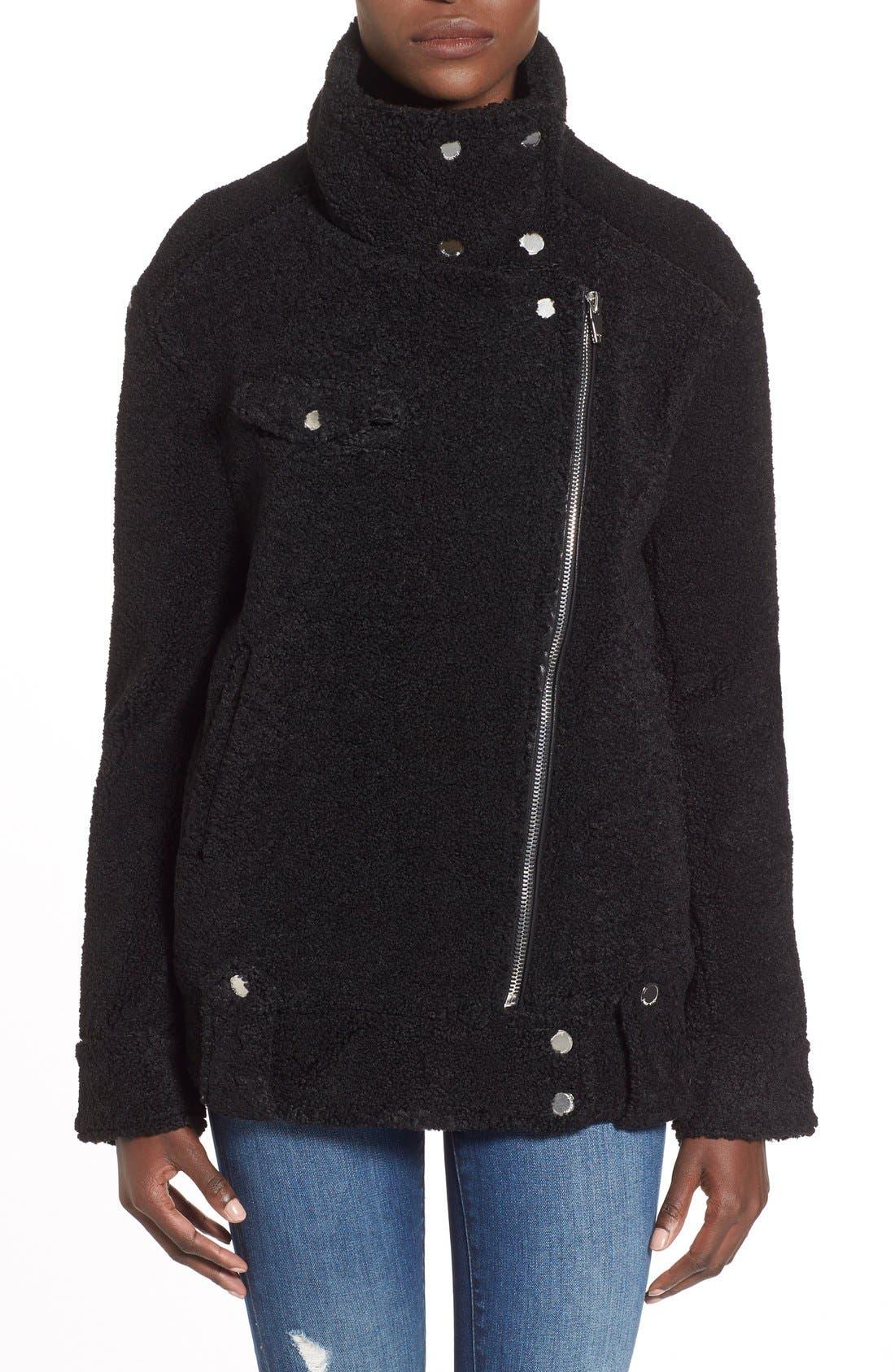 Alternate Image 4  - BLANKNYC 'Teddy' Moto Jacket