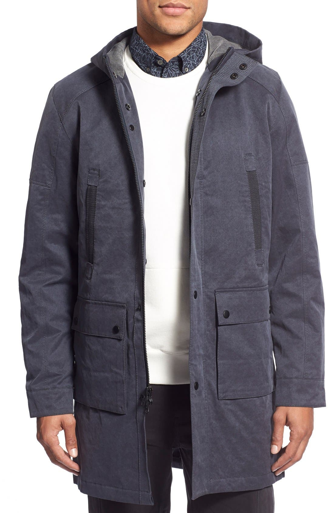W.R.K 'Kodiak' Water Resistant Coated Hooded Parka