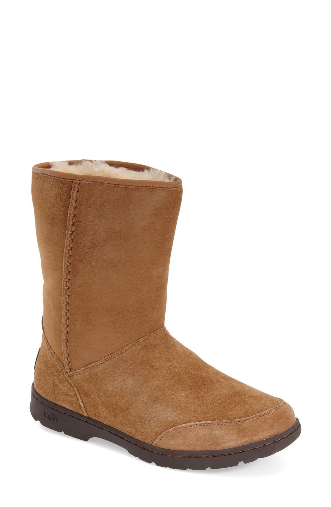 Alternate Image 1 Selected - UGG®Michaela Waterproof Suede Boot (Women)