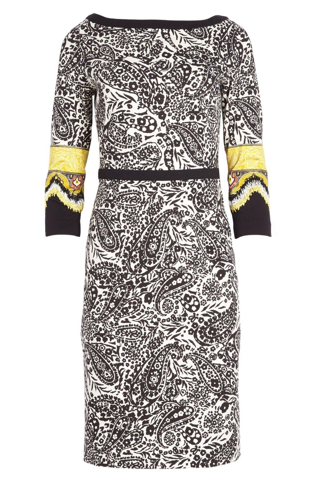 Alternate Image 4  - Etro Paisley Print Stretch Jersey Dress