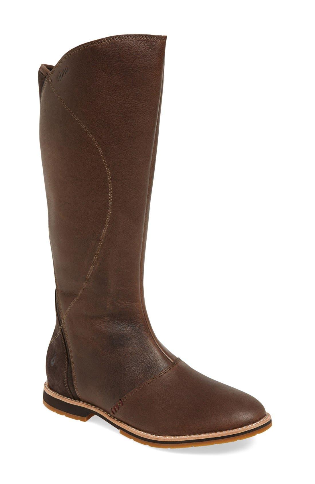 Ahnu 'Helena' Leather Boot (Women)
