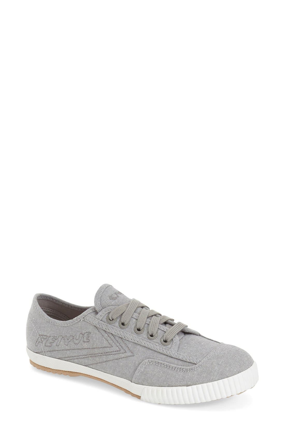 Alternate Image 1 Selected - Feiyue. 'Fe Lo Plain' Chambray Sneaker (Women)
