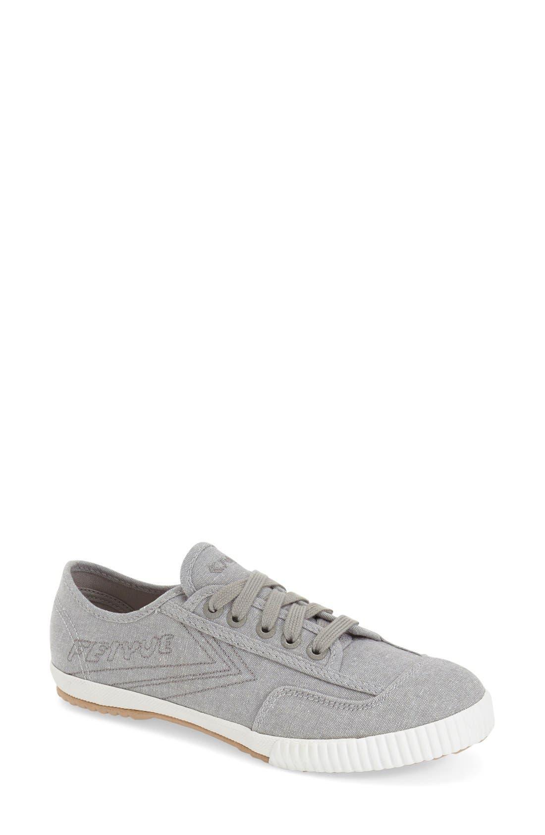 Main Image - Feiyue. 'Fe Lo Plain' Chambray Sneaker (Women)