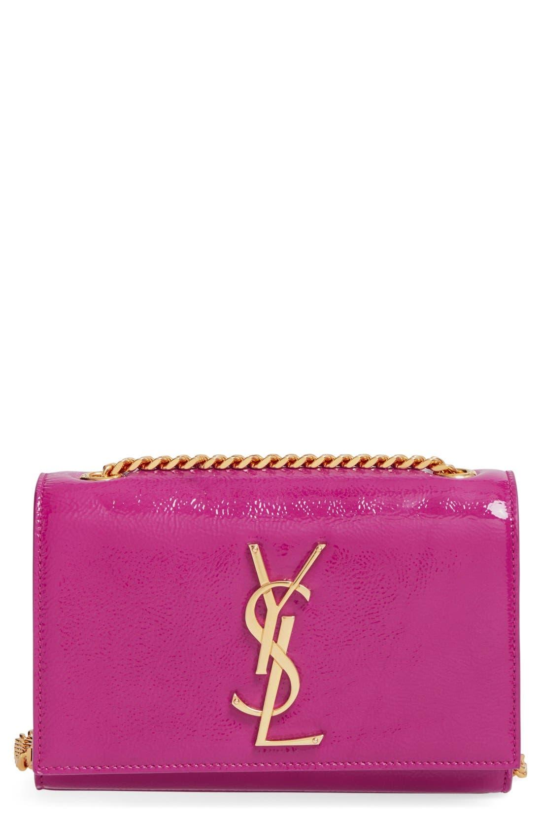 Alternate Image 1 Selected - Saint Laurent 'Mini Monogram Vernis' Handbag