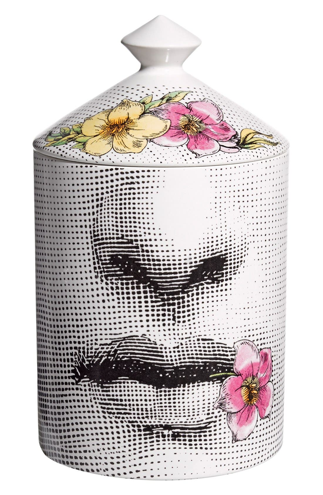 Alternate Image 1 Selected - Fornasetti 'Fior di Bacio - Flora' Lidded Candle
