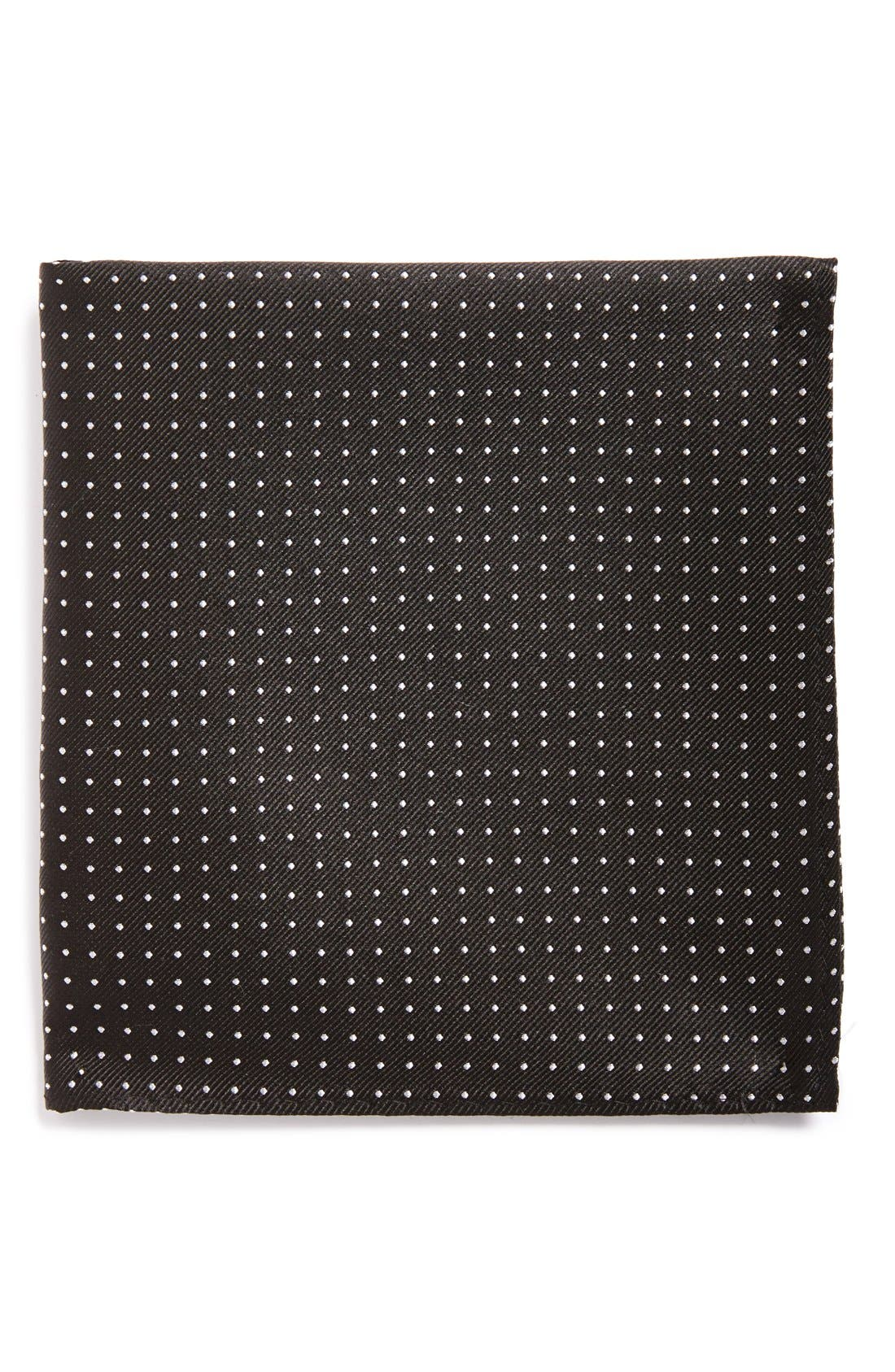 The Tie Bar Mini Dots Silk Pocket Square