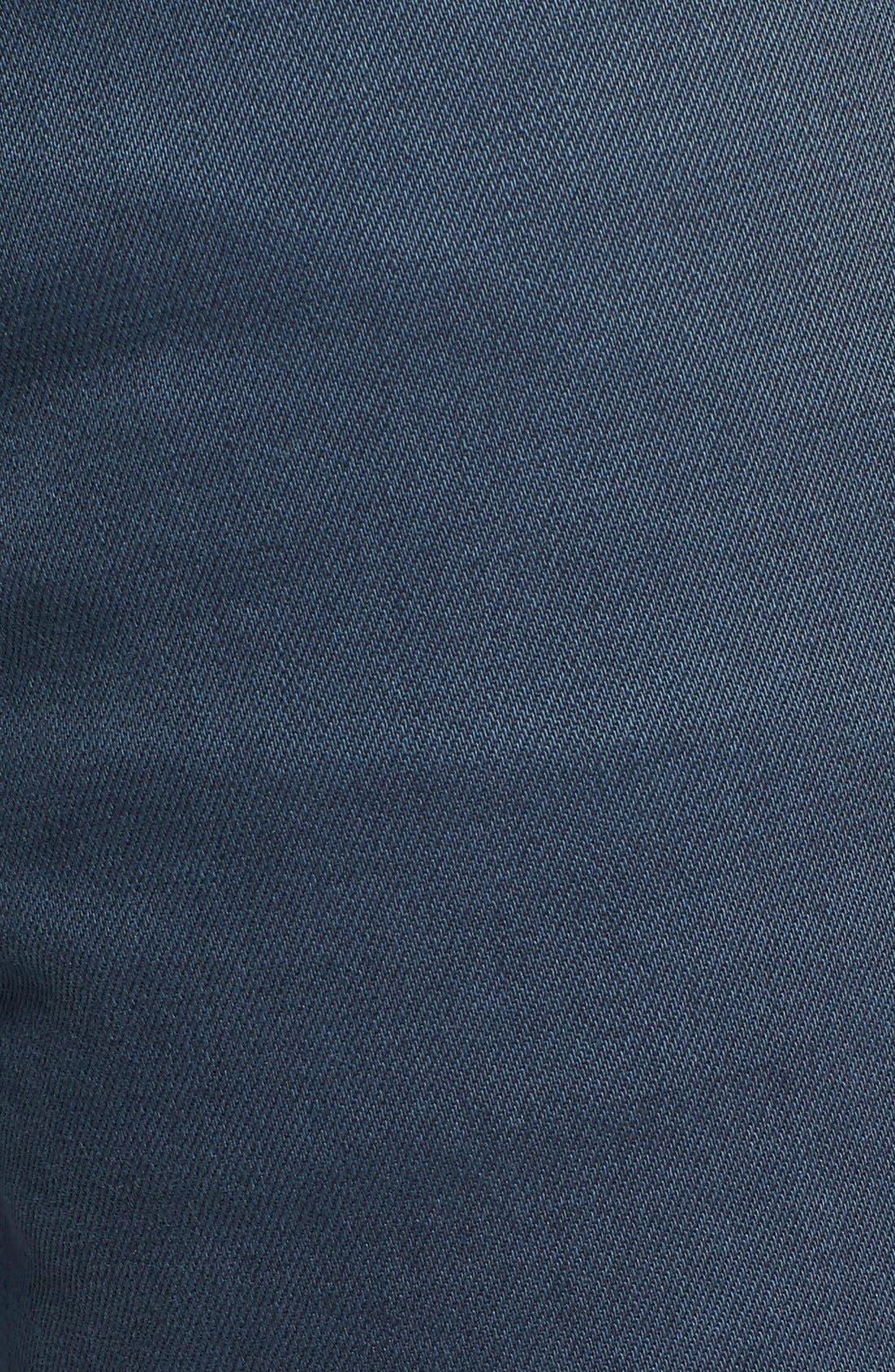 Alternate Image 5  - RVCA 'Daggers' Slim Fit Jeans (Army Drab)