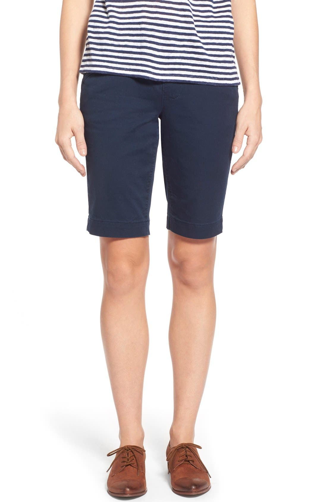 Jag Jeans 'Ainsley' Slim Bermuda Shorts (Regular & Petite)