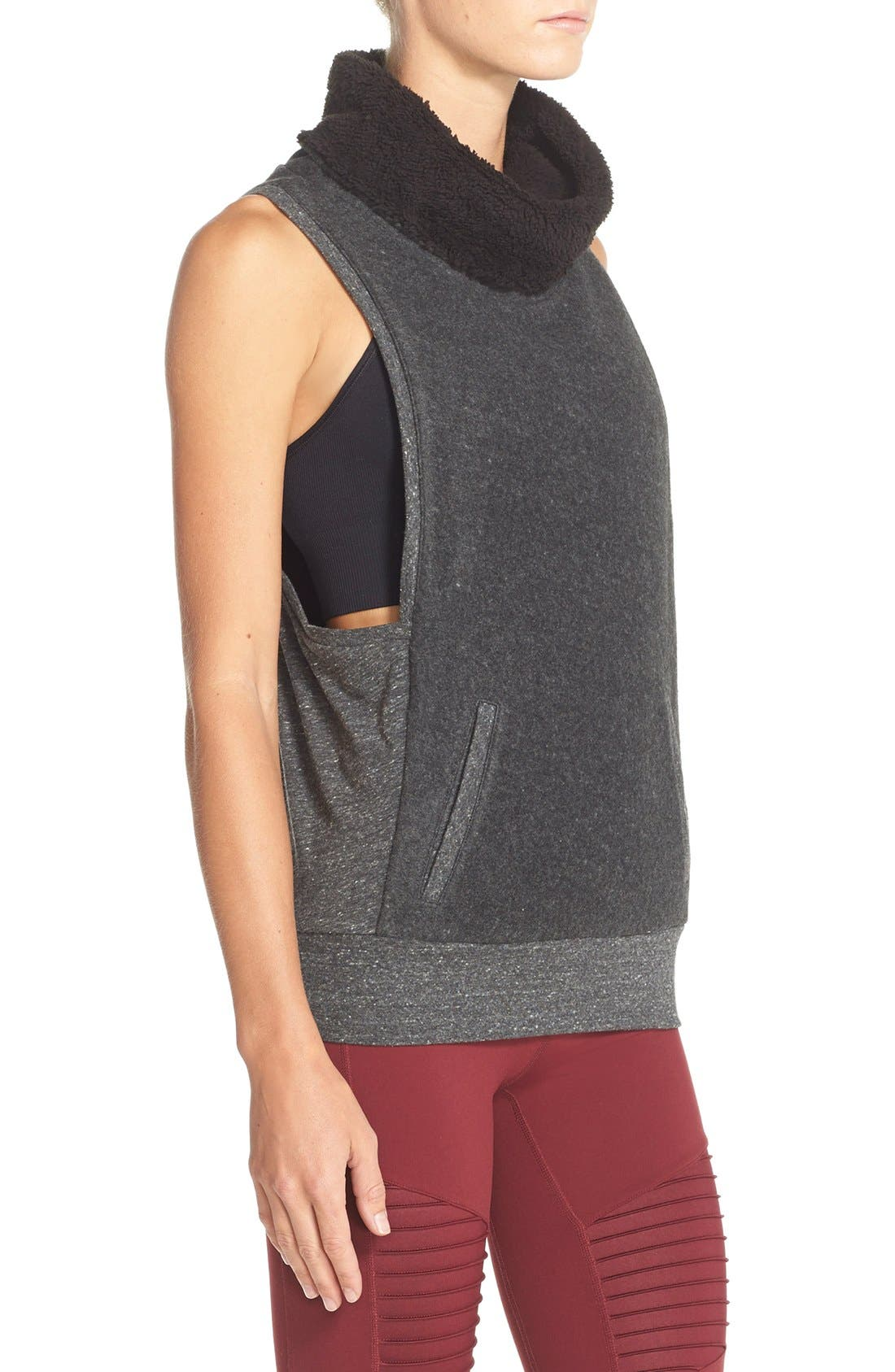 Alternate Image 3  - Alo 'Frost' Sleeveless Pullover