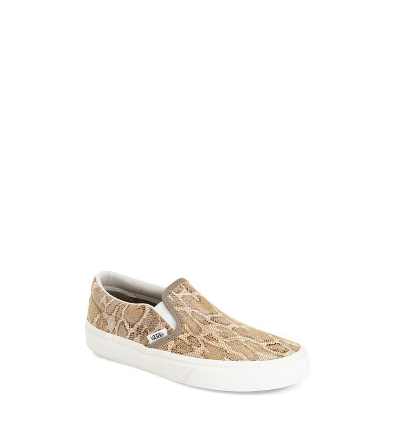 Vans Leopard Print Slip On Shoes Best 2017