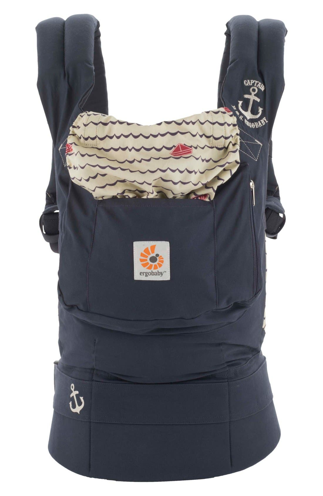 Alternate Image 1 Selected - ERGObaby 'Original' Cotton Baby Carrier (Baby)