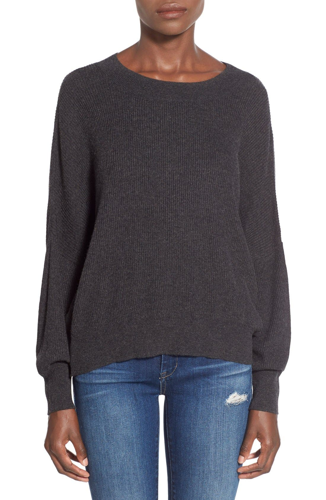 Alternate Image 1 Selected - Leith Relaxed Fit Dolman Sweater