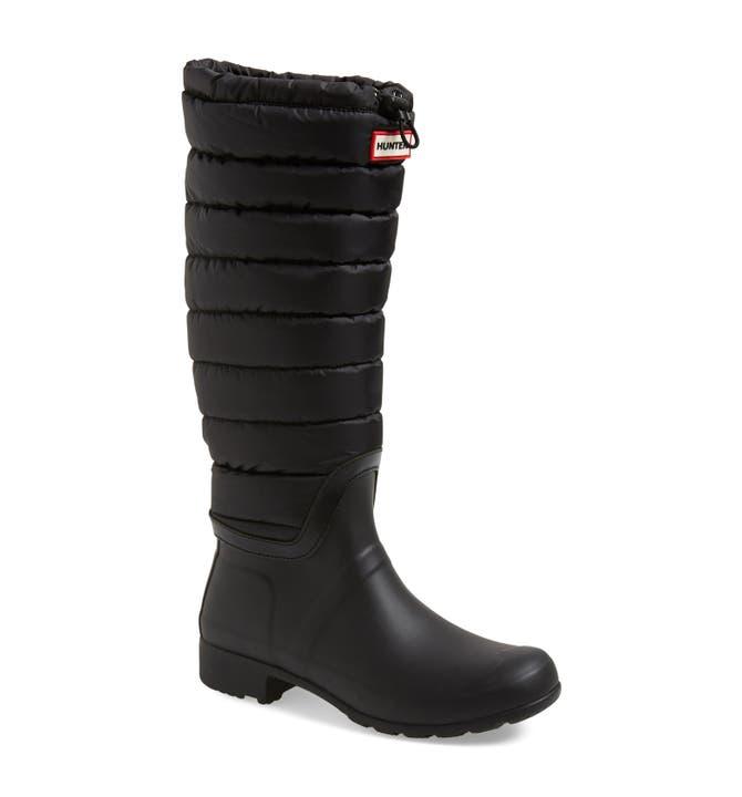 Hunter 'Original' Quilted Leg Rain Boot (Women) | Nordstrom : hunter boots quilted - Adamdwight.com