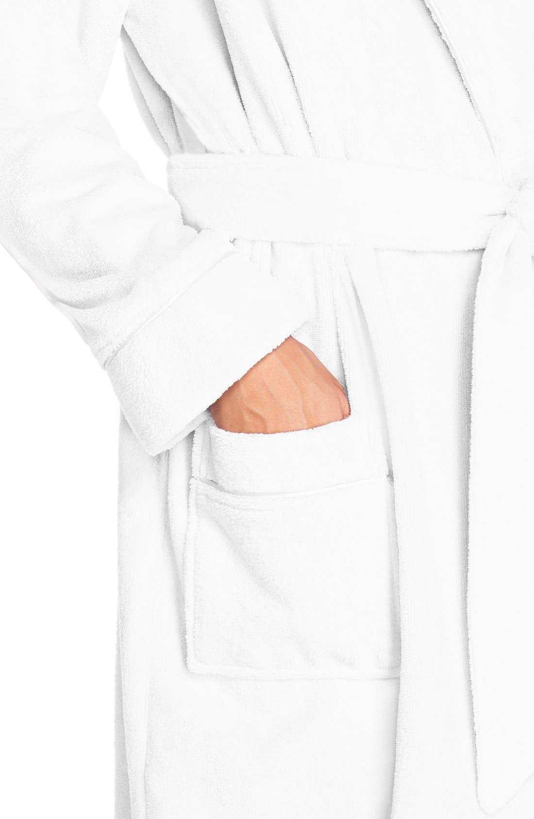 Alternate Image 5  - Nordstrom Lingerie Terry Velour Robe