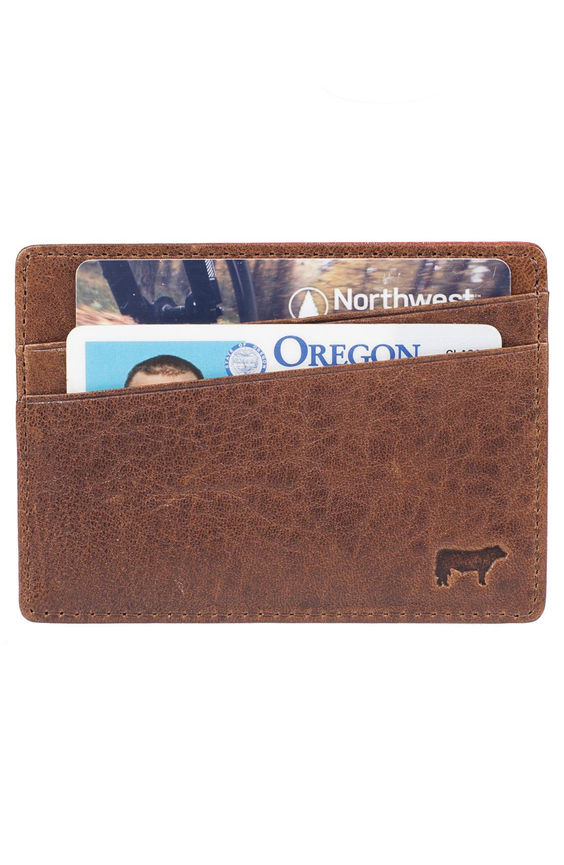 Alternate Image 3  - Will Leather Goods 'Quip' Leather Card Case