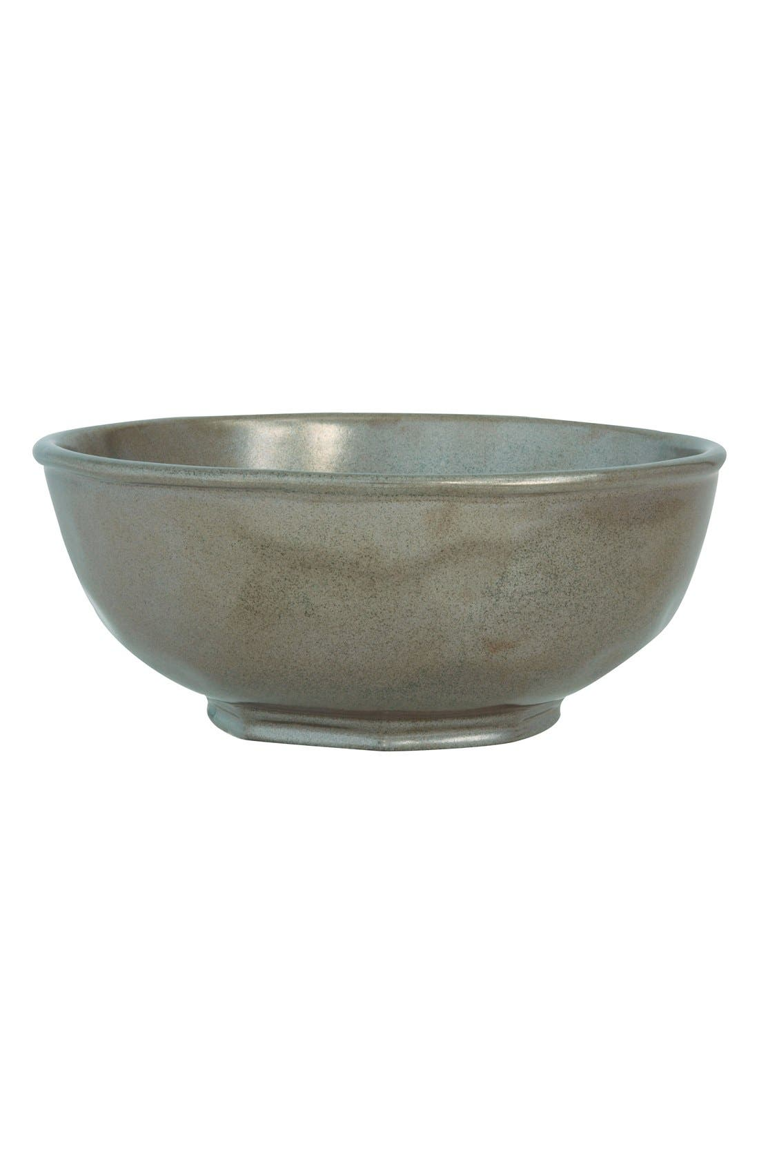 Alternate Image 1 Selected - Juliska 'Pewter' Ceramic Bowl
