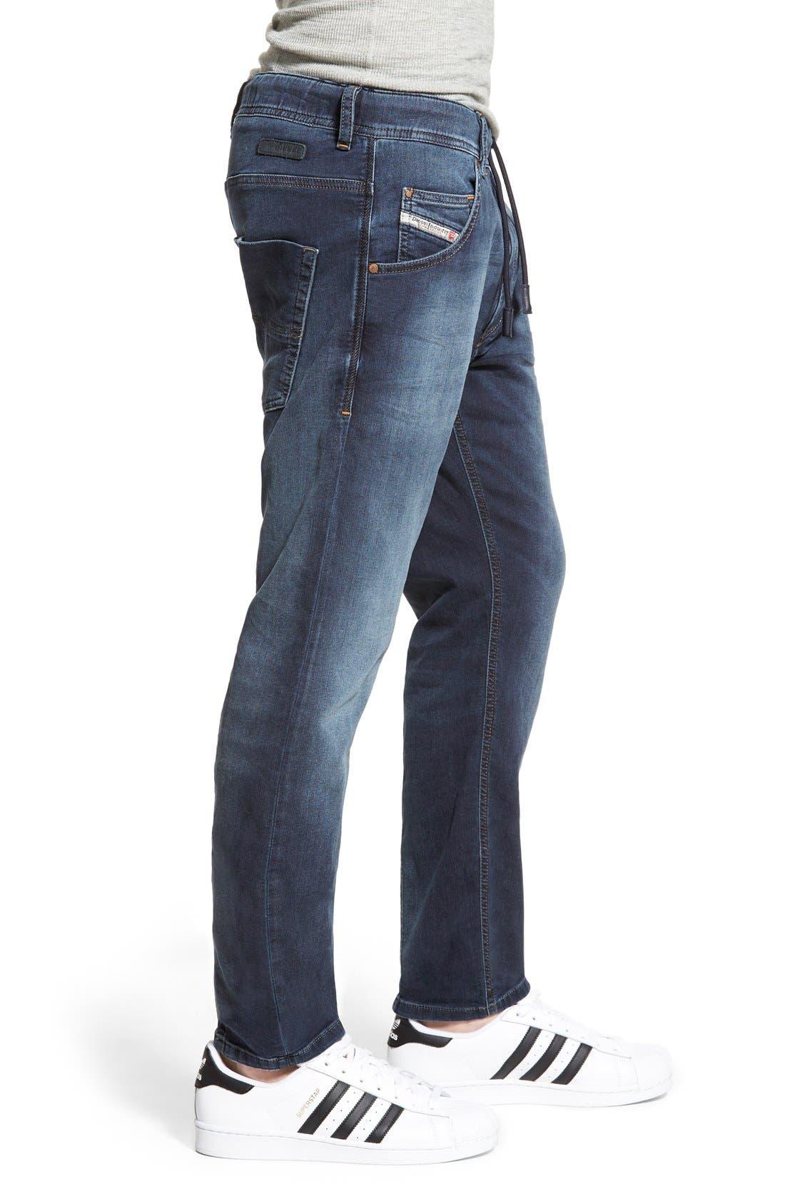 Alternate Image 3  - DIESEL® Krooley Jogg Slouchy Slim Jogger Jeans (848K)