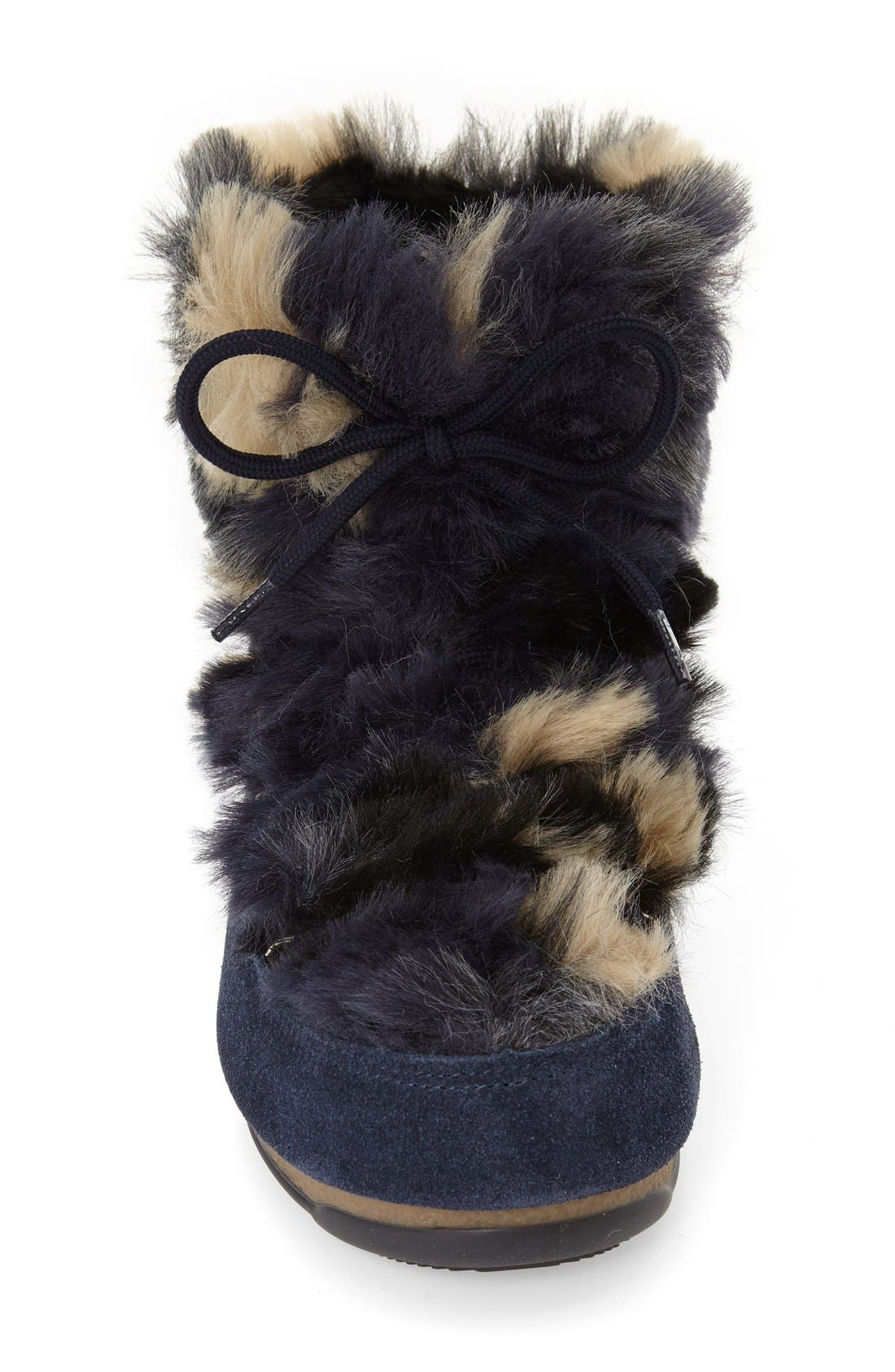 Alternate Image 3  - Tecnica® Camo Flip Paillette Water Resistant Insulated Moon Boot® with Faux Fur Lining (Women)